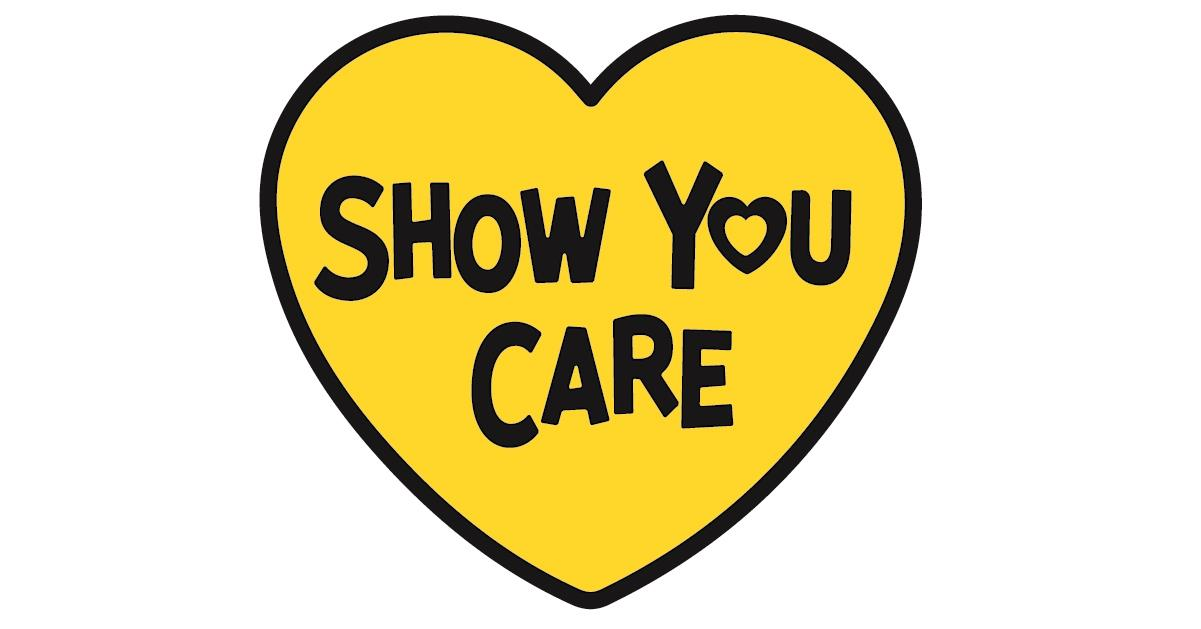 Show you care hearts